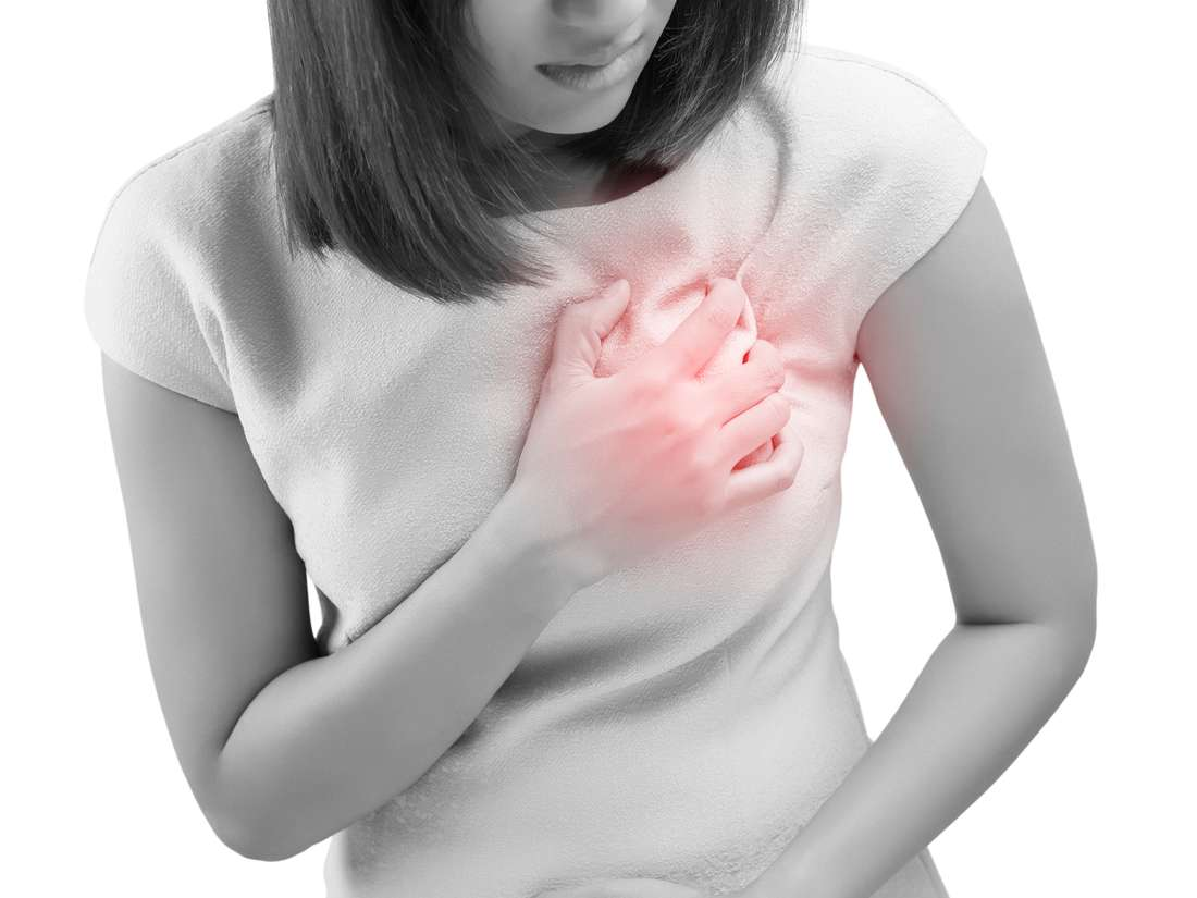 Can gastric problems cause chest pain
